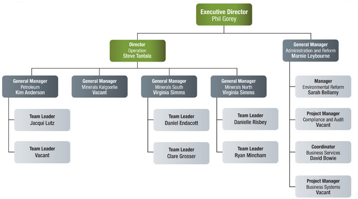 Figure 1:         DMP Environment Branch Structure May 2013