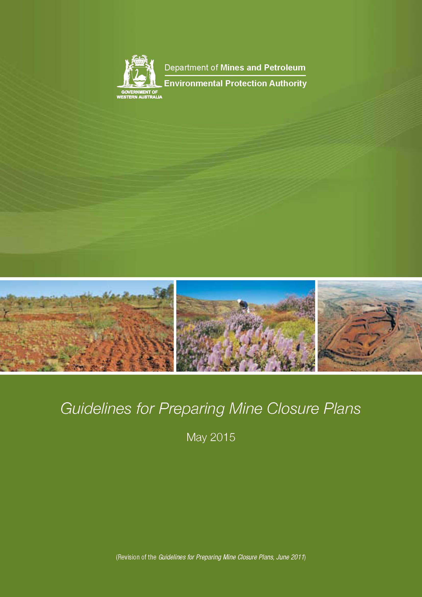 Update: Review of DMP's Mine Closure Guidelines 2015