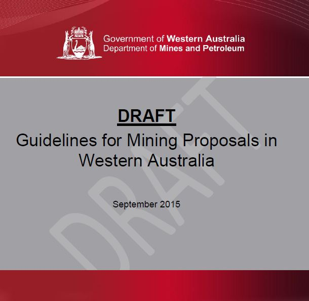 New DMP Mining Proposal Guidelines