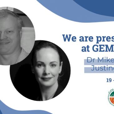 Dr Mike North & Justine Hyams – Presenting @ GEMG 2021